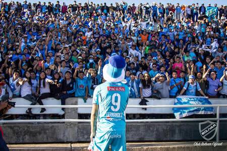 Bolívar recibirá el trofeo de campeón en La Paz