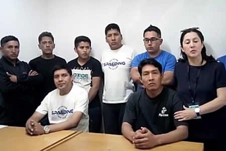 Feriado en Chile retrasa pago de la multa para retorno de los 9 bolivianos