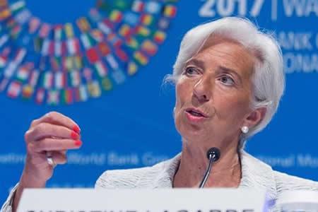 El FMI rebaja las previsiones de EEUU a un 2,1 % en 2017 y 2018