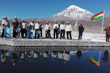 Ministerio de Culturas lanza circuito turístico comunitario Parque Nacional Sajama