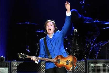 Paul McCartney hará temblar México con su rock después de cinco años