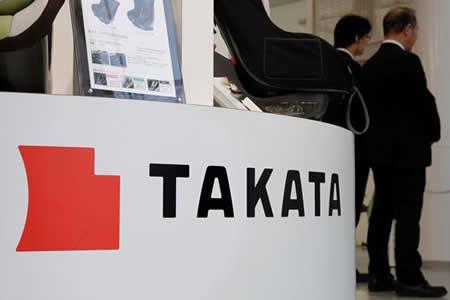 Takata se desploma casi un 70% en la Bolsa tras declararse en quiebra