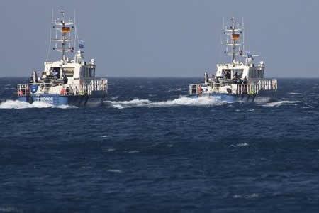 Frontex intercepta velero con 50 refugiados cerca de isla del sur de Grecia