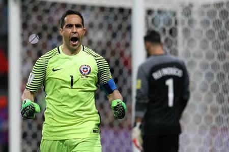 Chile tumba a Portugal en la tanda de penaltis con Bravo como héroe