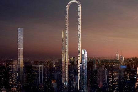Así será el increíble rascacielos 'doblado' que se levantará en Nueva York