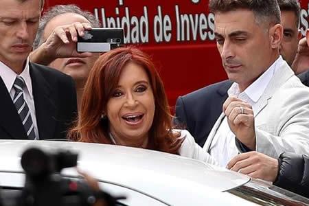 Cristina fern ndez declara como testigo en caso contra for Banco union uninet