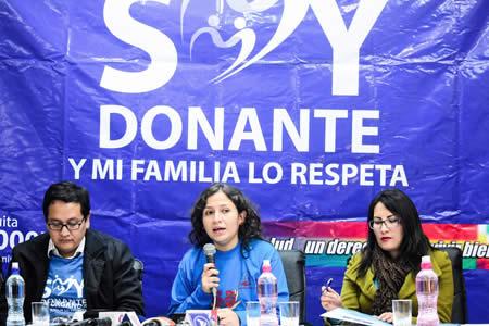Salud activa campaña para concienciar sobre la donación de órganos