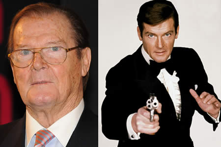 "Muere Roger Moore, el actor de James Bond y ""The Saint"""
