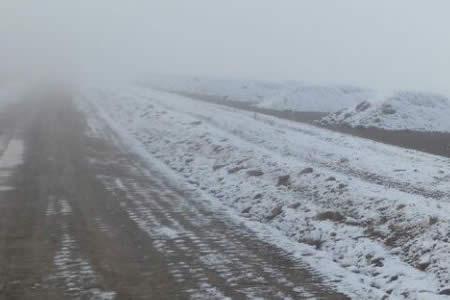 ABC reporta cierre de la carretera Oruro-Cochabamba por nevadas