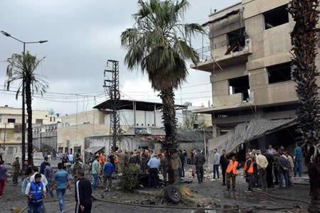 Al menos 4 muertos y 30 heridos en atentado en ciudad central siria de Homs
