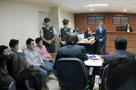 Justicia chilena suspende audiencia de bolivianos detenidos hasta el 20 de junio