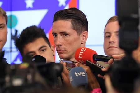 """Torres: """"He hablado con Simeone y sé lo que piensa"""""""