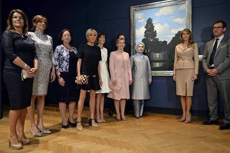 """Melania Trump y Brigitte Macron, las protagonistas de la otra """"cumbre"""""""