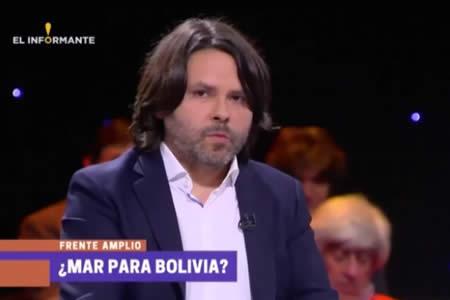 Jefe de campaña de precandidato chileno Mayol explicó a Morales propuesta sobre el mar