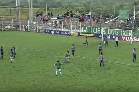 Petrolero goleó a Real Potosí en Yacuiba
