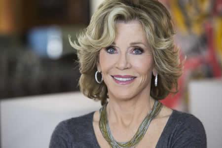 La actriz Jane Fonda revela la rivalidad por los Óscar con Katharine Hepburn
