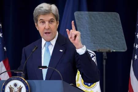 Kerry: Los estadounidenses seguimos en el Acuerdo de París y vamos a cumplir