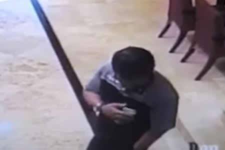 Le explota el teléfono en un bolsillo y sufre heridas en el rostro