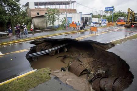 """""""Nate"""" muestra la necesidad urgente de adaptarse al cambio climático"""