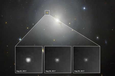 Avistamiento de luz y ondas gravitacionales de suceso cósmico abre nueva era