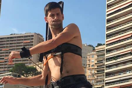 Novak Djokovic dice que disfruta del trabajo para regresar al tenis