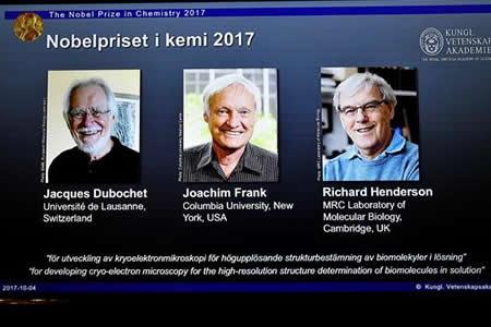 Nobel de Química por desarrollar nuevas técnicas para estudiar biomoléculas