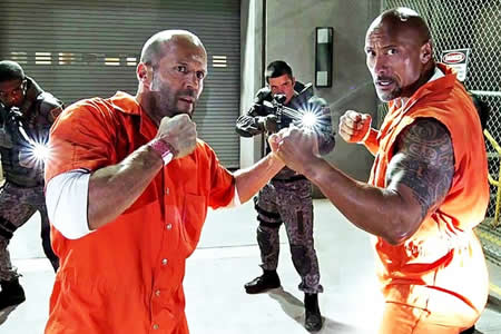 "Universal confirma el ""spin-off"" de ""Fast & Furious"" con ""The Rock"" y Statham"