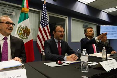 """Canciller Luis Videgaray asegura que México no abandonará a """"soñadores"""""""