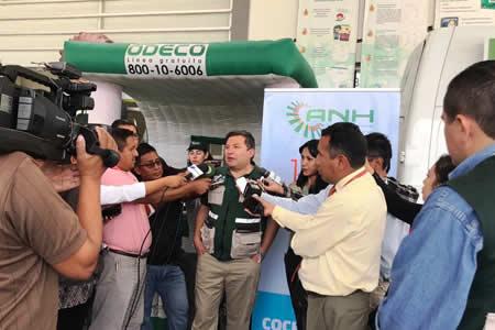 ANH declara a Cochabamba región con 100% de cobertura del B-SISA para venta de combustible