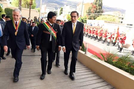 Vicepresidente de Perú asegura que proyecto del tren bioceánico tiene el respaldo de su Gobierno
