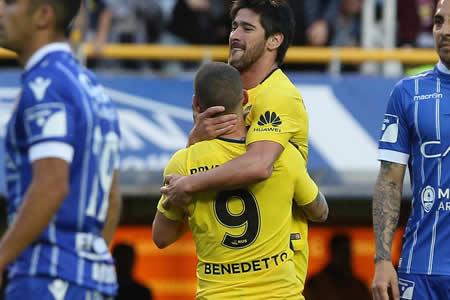 Boca goleó a Godoy Cruz y mantuvo su andar ideal en la Superliga argentina