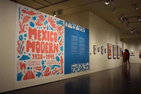 """""""México moderno"""", la exposición que recuerda auge del arte mexicano en EE.UU."""