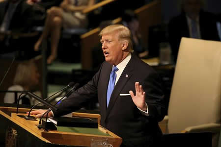 Trump aboga por ayudar a refugiados cerca de sus países, y no en EE.UU.