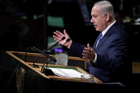 """Netanyahu dice que ONU ha sido por mucho tiempo """"epicentro"""" del antisemitismo"""