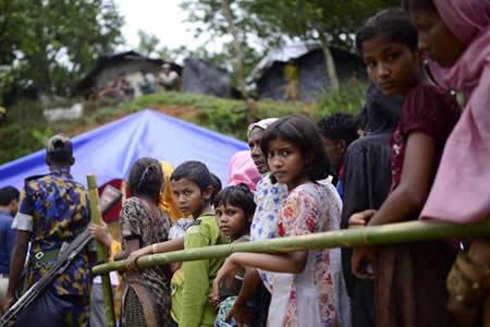 EEUU destinará 32 millones de dólares a la crisis de refugiados rohinyás