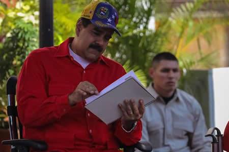 """Maduro dice que no fue a la ONU por seguridad debido a """"posibles atentados"""""""