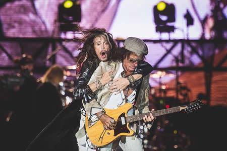 Aerosmith inunda de rock el festival de Río de Janeiro tras tres días de pop