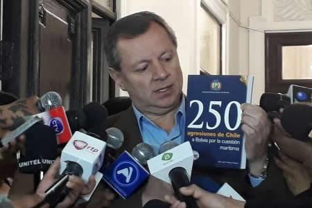"""Presidente del Senado dice que Chile sigue """"usurpando"""" funciones de La Haya"""