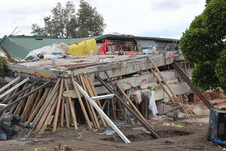 Unas 3.000 viviendas quedaron afectadas por el sismo en Ciudad de México