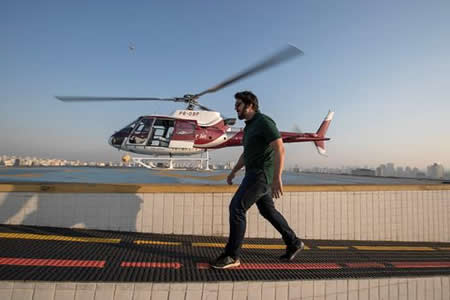 """Los helicópteros """"low cost"""" sobrevuelan el cielo de Sao Paulo"""