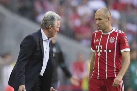 Heynckes no descarta hacer algunos cambios en el duelo contra el Hamburgo