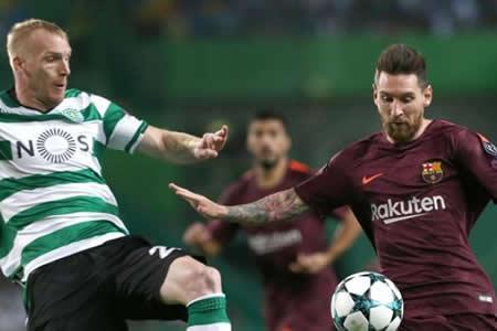 Multa de 31.000 euros al Sporting de Lisboa por incidentes ante el Barcelona