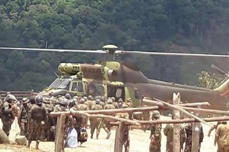 Enfrentamiento entre cocaleros y erradicadores deja 11 detenidos