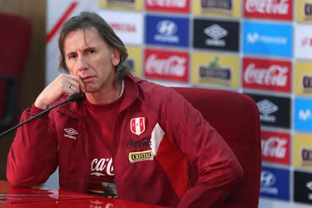 """""""Nueva Zelanda es un rival muy duro"""", dice Gareca al presentar a convocados"""