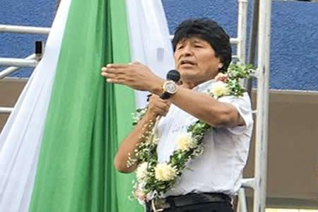 "Evo Morales a opositores refugiados: ""Si son machitos vuelvan"""