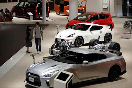 Nissan cae más de un 2 % en Bolsa tras suspender su producción en Japón