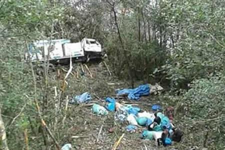 Accidente en La Asunta deja tres personas fallecidas y cinco heridas
