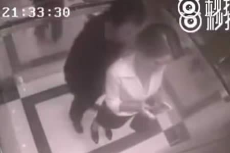 Intentó propasarse en el ascensor y recibió su merecido