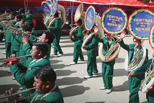 Banda Espectacular Pagador brinda concierto de oro en homenaje a Oruro