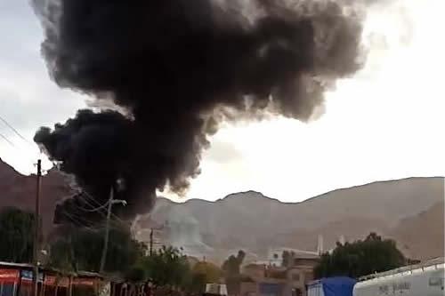 Bomberos presume que explosión en Camargo se produjo debido al estallido de una garrafa